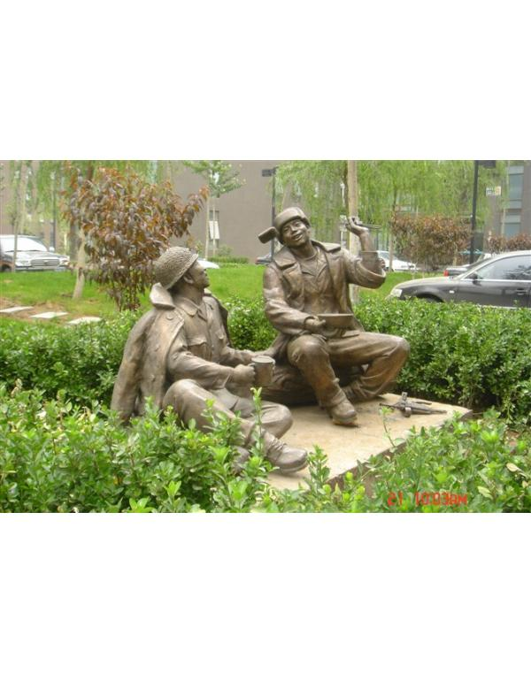 校园铜雕的作用